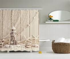 Image result for lighthouse shower curtain